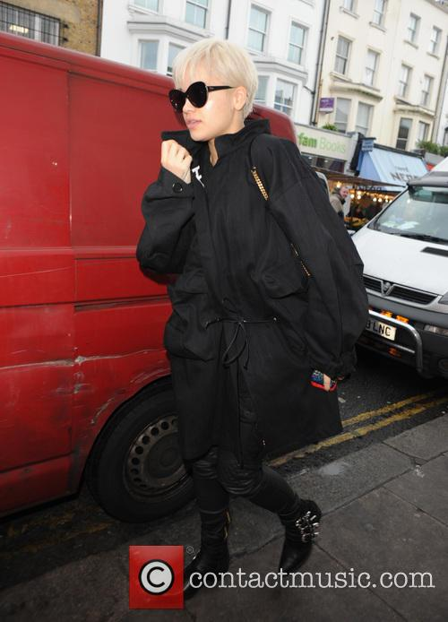 Rita Ora seen out and about in Notting...