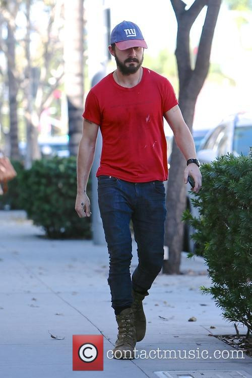 Shia LaBeouf spotted out in Beverly Hills