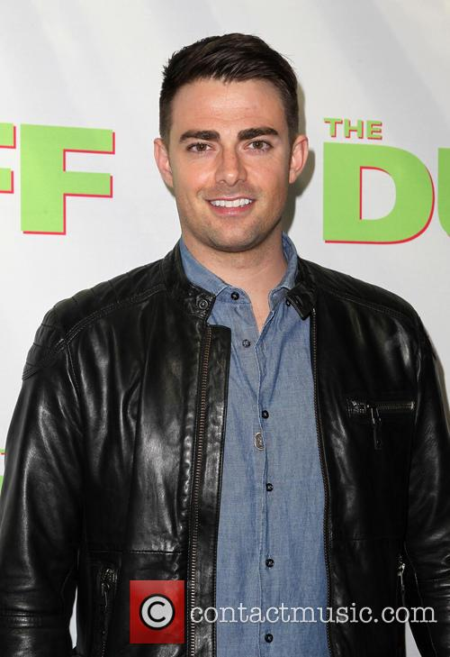 Jonathan Bennett at the premiere of The Duff