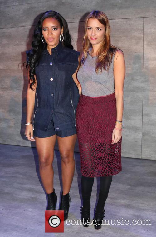 Angela Simmons and Charlotte Ronson 2