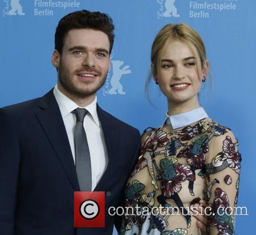 Richard Madden and Lily James 2