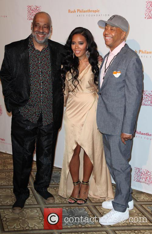 Danny Simmons, Angela Simmons and Russell Simmons 7