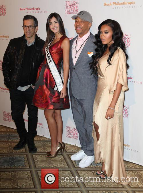 Kenneth Cole, Paulina Vega, Russell Simmons and Angela Simmons 3