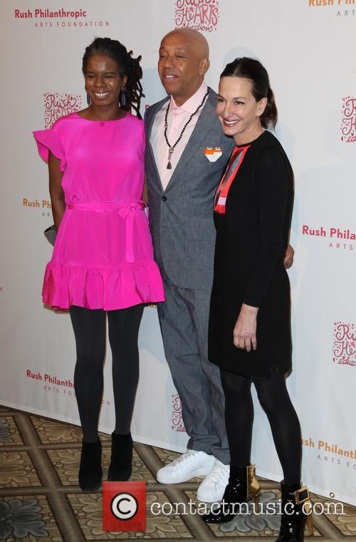Tangie Murray, Russell Simmons and Cynthia Rowley 8