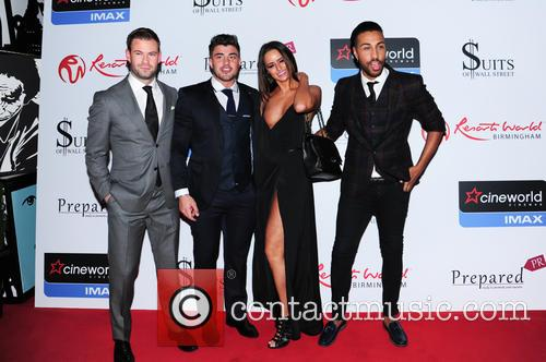 Yasmin, Dean Spragg, Rogan O'connor and Valentino 3
