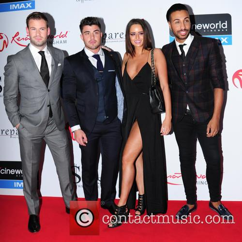 Yasmin, Dean Spragg, Rogan O'connor and Valentino 1