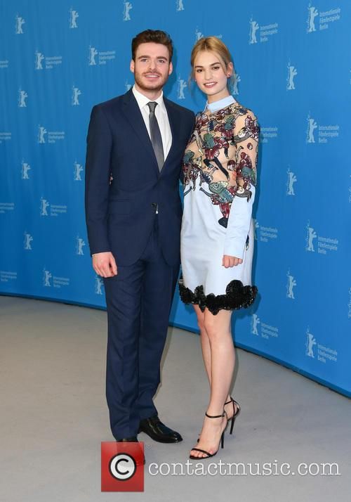 Lily James and Richard Madden 2