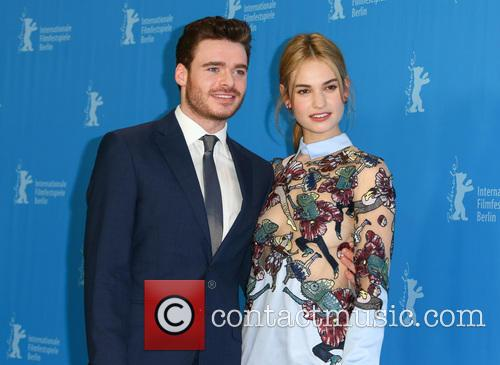 Lily James and Richard Madden 4