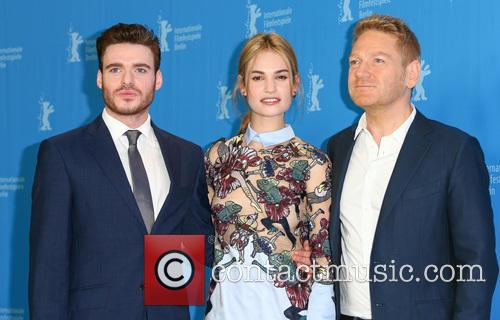 Lily James, Richard Madden and Kenneth Branagh 5
