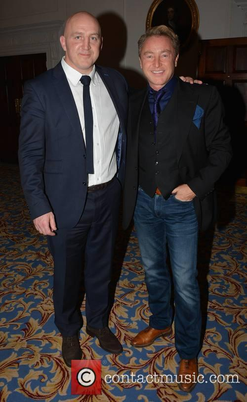 Keith Wood and Michael Flatley 2