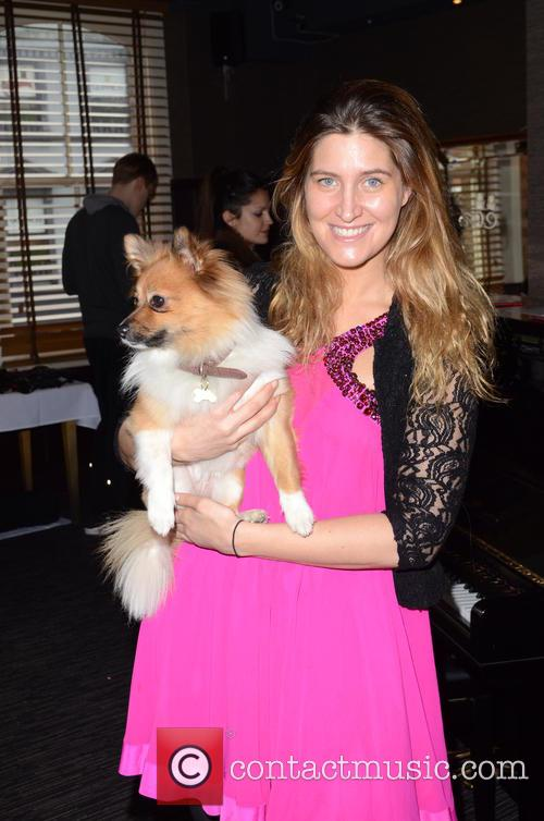 Francesca Hull and And Her Dog Ivie 2