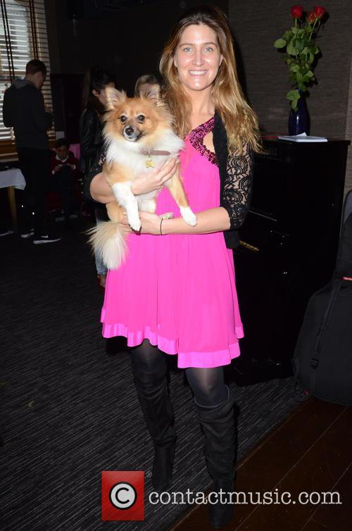 Francesca Hull and And Her Dog Ivie 4
