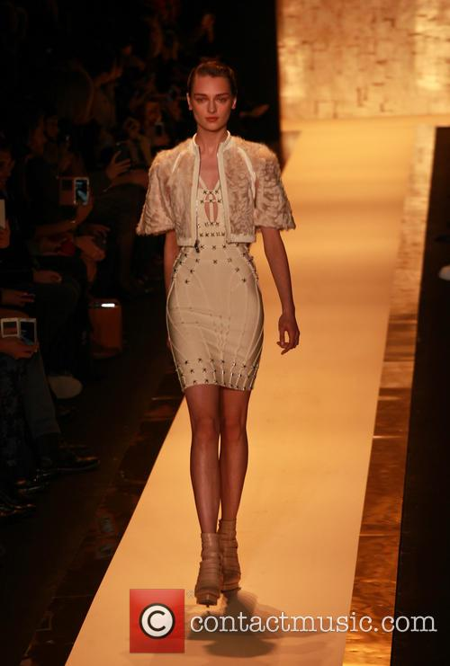 Mercedes-benz Fashion Week Fall, Herv, Leger and Runway 2