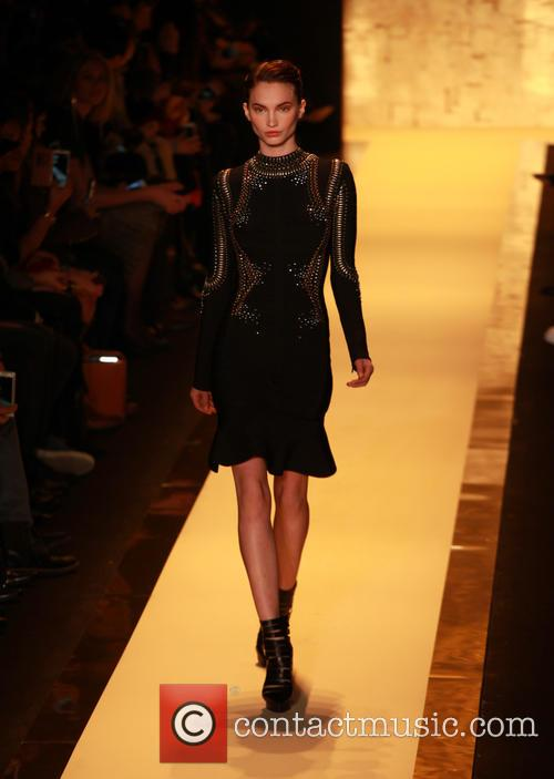 Mercedes-benz Fashion Week Fall, Herv, Leger and Runway 7