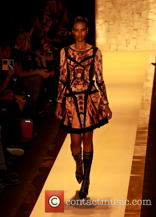 Mercedes-benz Fashion Week Fall, Herv, Leger and Runway 9