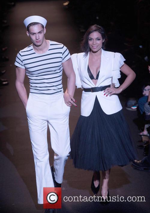 Model and Rosario Dawson 3