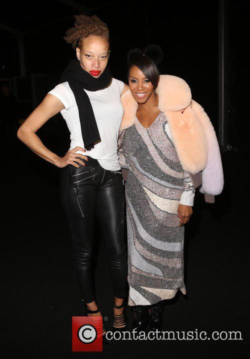 Stacey Mckenzie and June Ambrose 2
