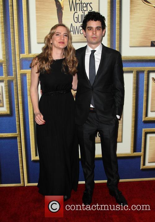 Jasmine Mcglade Chazelle and Damien Chazelle 4