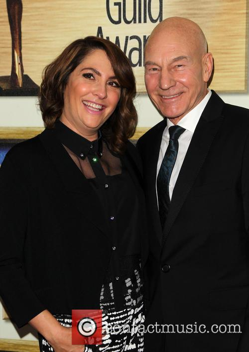 Patrick Stewart and Jill Soloway 6