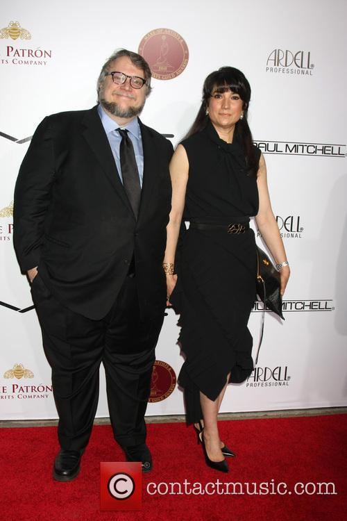 Guillermo Del Toro and Lorenza Newton 1