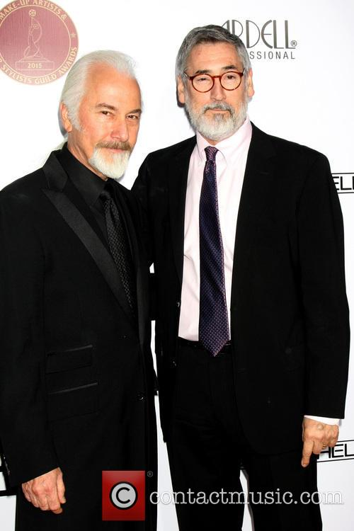 Rick Baker and John Landis