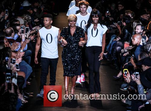 Bryshere Gray, Mary J. Blige and Naomi Campbell 3