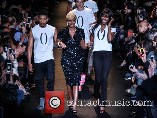 Bryshere Gray, Mary J. Blige and Naomi Campbell 4