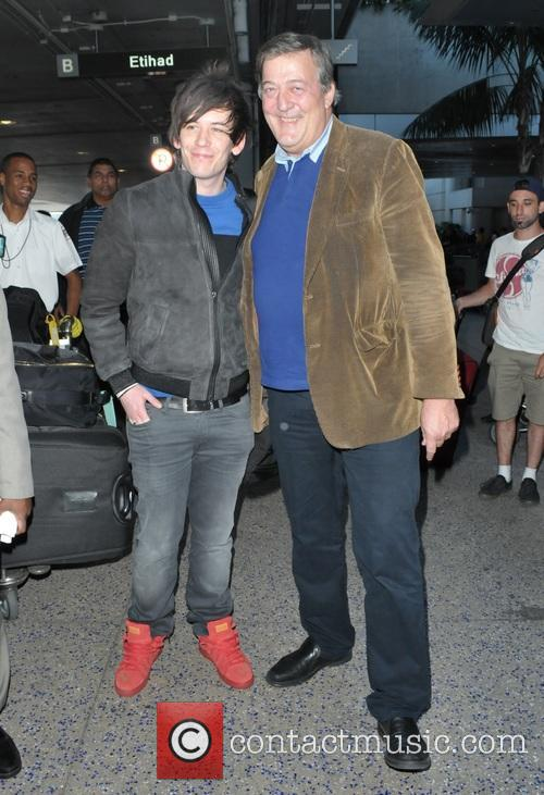 Stephen Fry and Elliot Spencer 1