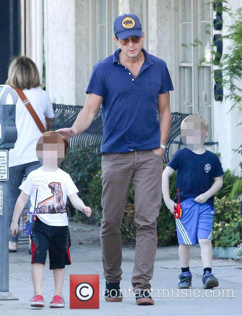 Will Arnett, Archie Arnett and Abel Arnett 3