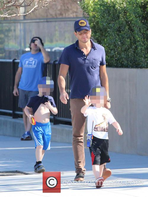 Will Arnett, Archie Arnett and Abel Arnett 11