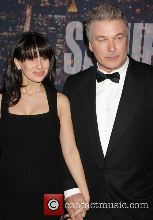Alec Baldwin and Hillaria Thomas 2