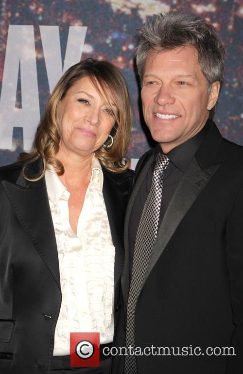 Bon Jovi and Dorothea Hurley 8