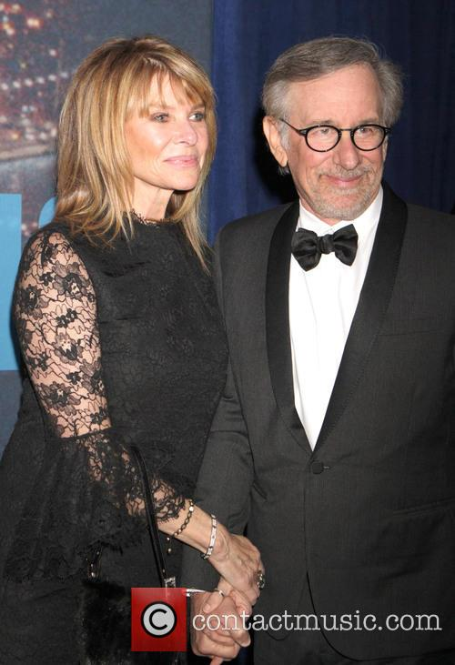 Steven Spielberg and Kate Upshaw 2