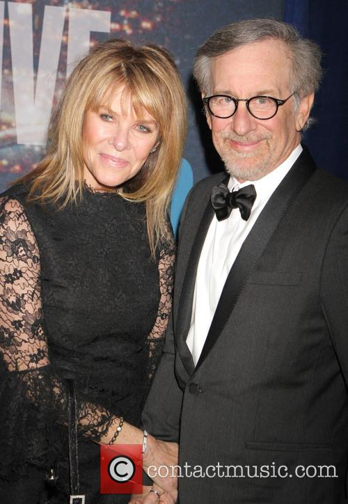 Steven Spielberg and Kate Upshaw 1