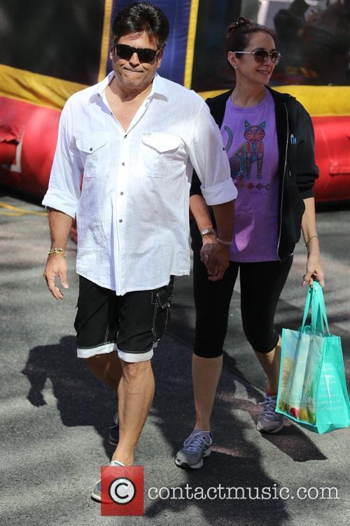 Erik Estrada and his wife visit the Farmers...