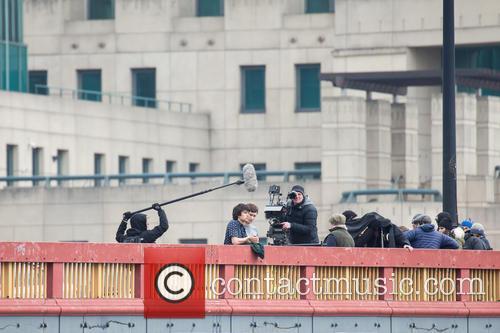 Ben Whishaw films scenes for new James Bond...