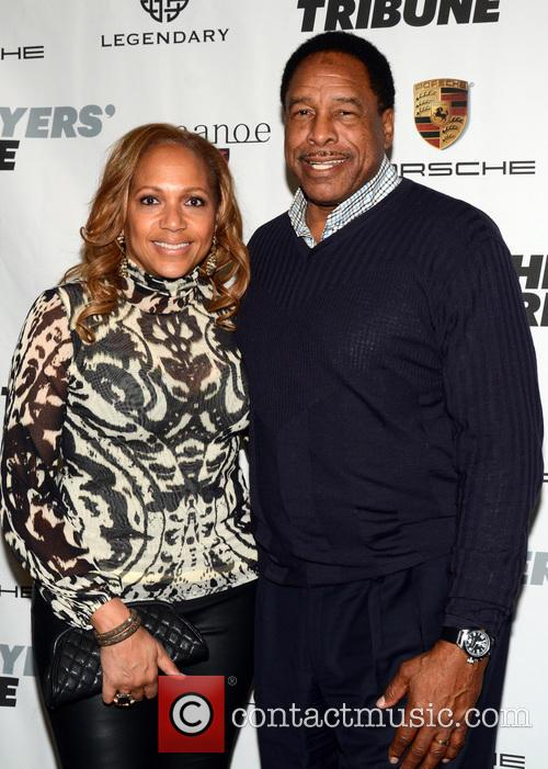 Tonya Turner and Dave Winfield