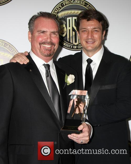 Bill Roe and Nathan Fillion 1