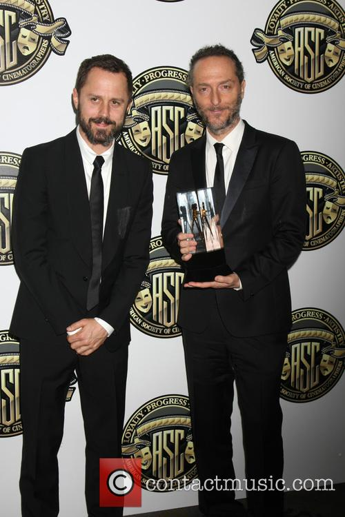 Giovanni Ribisi and Emmanuel Lubezki