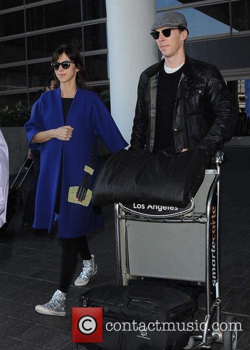Benedict Cumberbatch and Sophie Hunter 9
