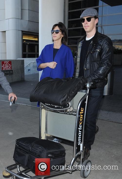 Benedict Cumberbatch and Sophie Hunter 10