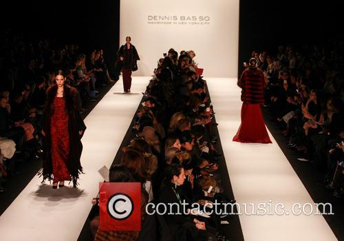 Mercedes-Benz New York Fashion Week - Dennis Basso...