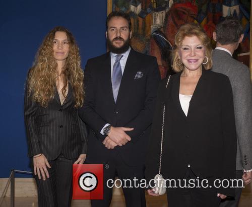 Baroness Thyssen, Borga Thyssen and Blanca Cuesta 10