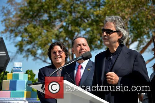 Rudy Perez, Philip Levine and Andrea Bocelli 3