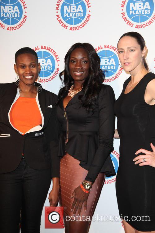 Andrea Garner, Rushia Brown and Ruth Riley 3