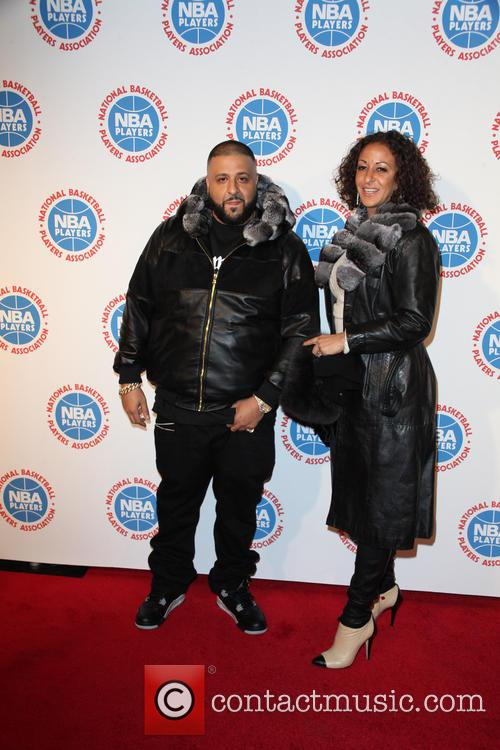 Dj Khaled and Nicole Tuck 4