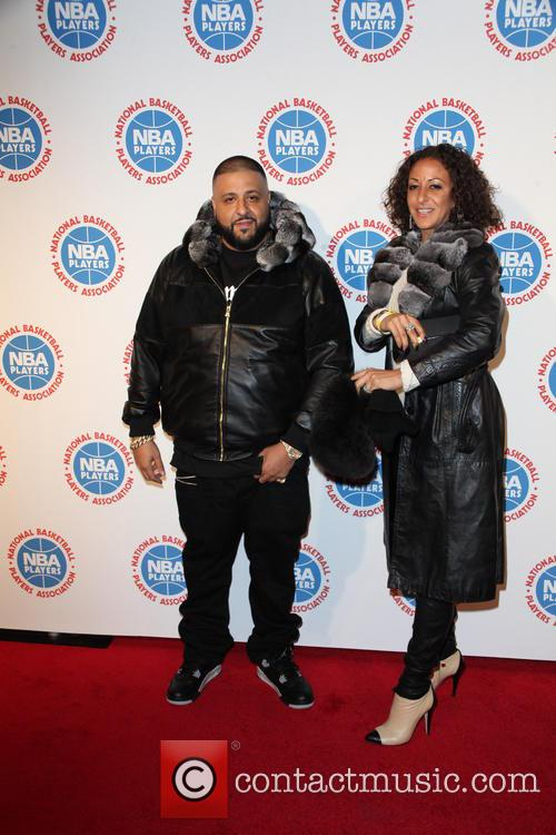 Dj Khaled and Nicole Tuck 5