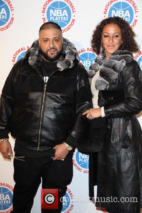 Dj Khaled and Nicole Tuck 6