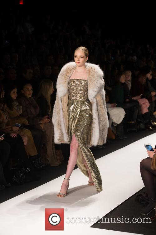 Mercedes-benz New York Fashion, Week, Dennis Basso and Catwalk 2