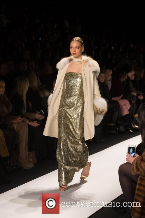 Mercedes-benz New York Fashion, Week, Dennis Basso and Catwalk 3